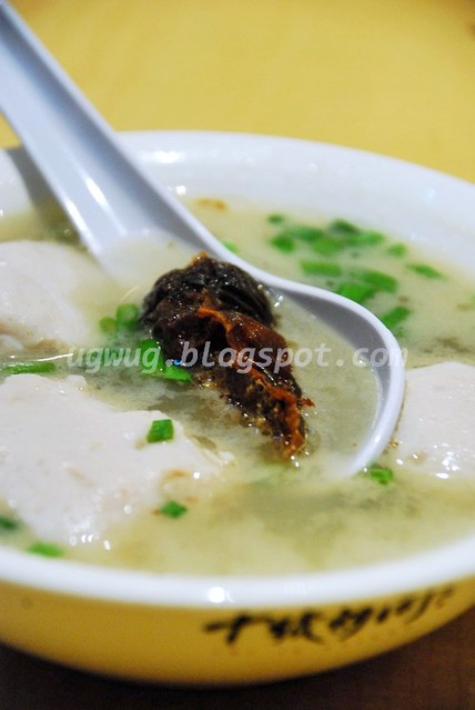 Pork Meat Balls & roast stuffed pork intestine