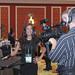 Craig Burnett interviewing Larisa Hodzic