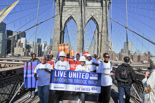 2010 Live United Brooklyn Bridge Walk & Volunteer Festival