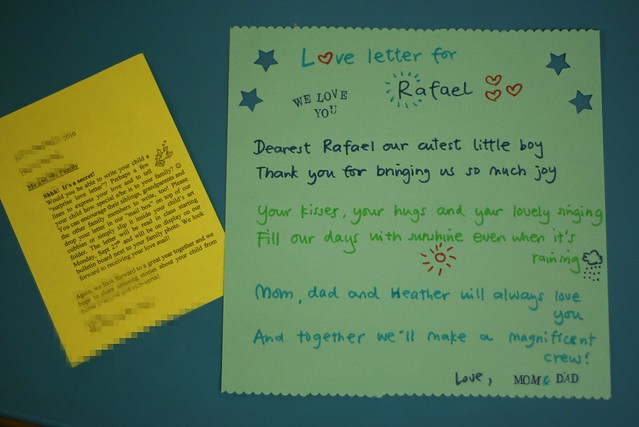 love letter for rafael