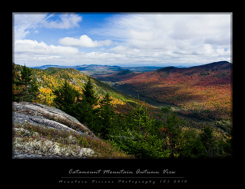 Catamount Mountain Autumn Views
