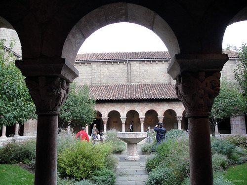 Cloisters Garden view