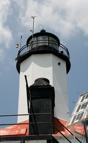 Michigan City Pier Lighthouse Indiana-6