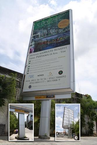 Detail Billboard Bumbu Desa - Balikpapan