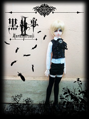 _ Kuroshitsuji II _ (Bunraku Doll) Tags: boy anime cute real doll ace manga blonde bjd resin alois custom dollfie dim msd shota kodona trancy  kuroshitsujiii