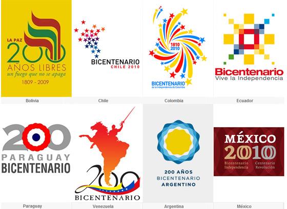 bicentenario logotipos