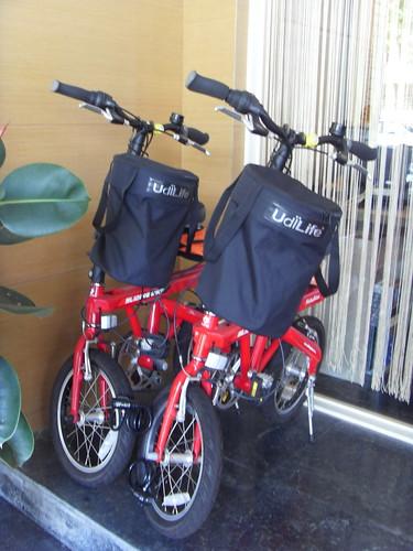 哥倫比亞商旅可以借單車
