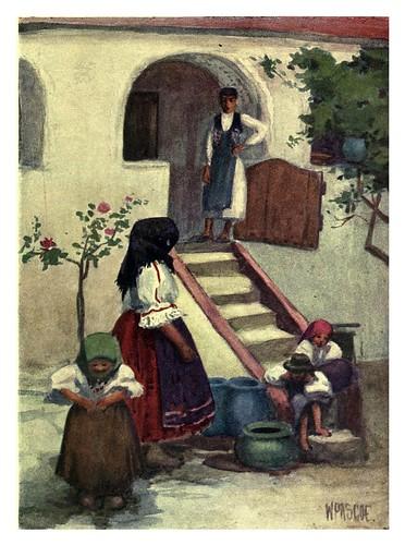 010-La casa de una granja cerca de Pécs-Hungary and the Hungarians 1908- Bovill W.B Forster