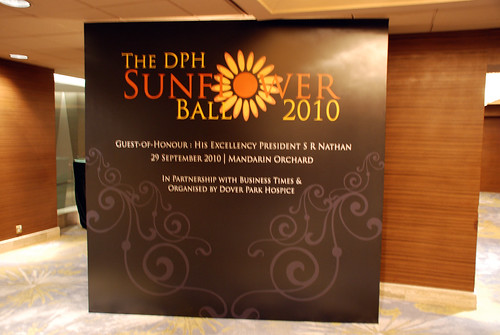 Caricature live sketching for The DPH Sunflower Ball 2010 - b