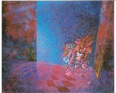 GA21532 | L'arrivo dell'Ospite (GIGARTE.com) Tags: su 1986 francesco olio tela pittura pittore spatola aramu francescoaramu metafisicasurrealismo ga21532