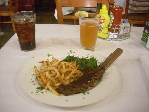 Marinated steak, Weiland Brewery