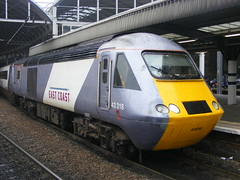 HST: 43318 East Coast Newcastle Central (emdjt42) Tags: eastcoast hst newcastlecentral 43318