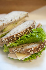 Turkey Swiss & Acocado, Andersen Bakery, San Francisco