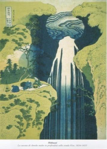 hokusai-la cascata