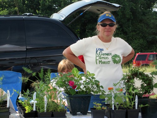 King George Farmers' Market (via American Farmland Trust)