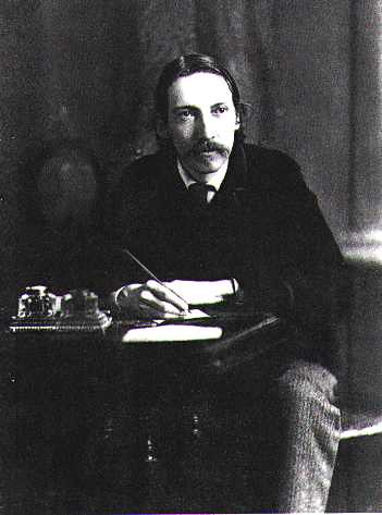 Robert Louis Stevenson Old Photograph