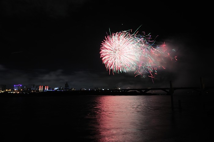 99年國慶台北燦爛煙火