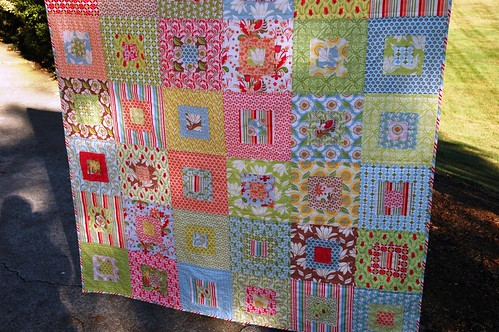Verna Scruffily Quilt - bottom
