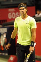 Rafael Nadal (bitayamoka) Tags: japan court tokyo nikon open hard atp tennis rafael nadal 2010 ariake 楽天 d300 rakuten 有明 テニス オープン コロシアム