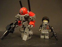 4CT Elite Drone (jestin pern) Tags: cherry with lego suit frame hint operator bandwagon fad awesomesauce zeessi