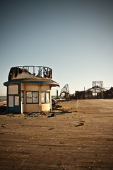 Left Behind (AndyWilson) Tags: fire pier aftermath sad sony hastings alpha burned charred a700 18250 101010