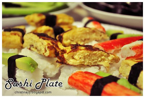 Pre-Birthday Preparation: Sushi