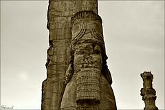Persepolis. (Behzad No) Tags: life old sky fire persian king alone sad iran shiraz pars persepolis fars parseh nikond90 internationalgate behzadno