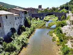 Lagrasse - Le Pont-Vieux (Martin M. Miles) Tags: france charlemagne 11 aude middleages lagrasse moyenage mittelalter pontvieux plusbeauxvillagesdefrance saintemariedelagrasse