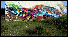 By ROMI (GF) (Thias (-)) Tags: terrain streetart wall les painting graffiti mural au spray urbanart painter normandie graff aerosol miro romi bombing gf verdure spraycanart futurist pgc pouvoir thias photograff roumains frenchgraff photograffcollectif ghettofarceur