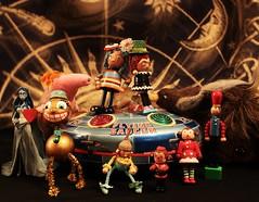 UFOing across the UNIVERSE!! (Hannhell) Tags: self toy ufo flyingsaucer universe letteru madeinjapan x7 moderntoys 285365 12thoctober toypincher judibird 2010inphotos toytuesdaythursday