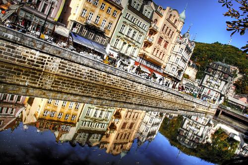 Reflections. Karlovy vary. Reflejos