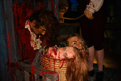 Bucket of Heads (Jerry Bowley) Tags: heads waxmuseum madametussauds guillotine