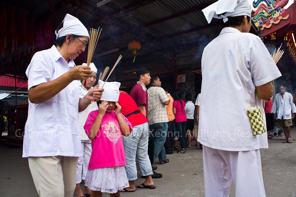 Devotee @ Nine Emperor Gods Festival, Ampang, Malaysia