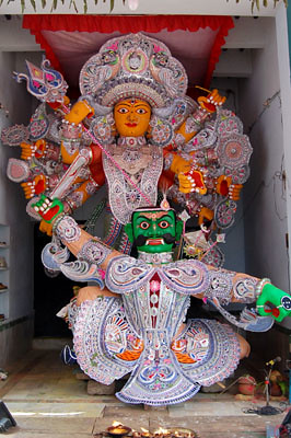 Janhimundia, second biggest Gosani :: Durga Puja at Puri