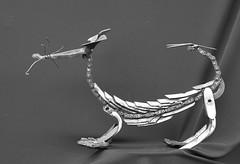 scorpichien (pedrobigore) Tags: sculpture chien table bateau poisson métal fer masque acier danseuse récup volant bestioles récupération soudure soudeur féraille akouma hipocamppe