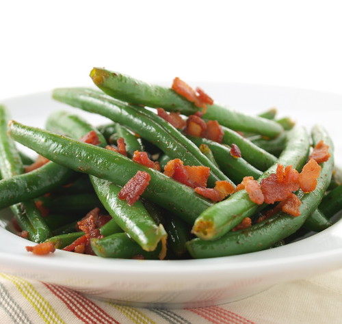 Bacon Dressed Green Beans