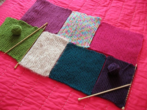 Progress on the patchwork blanket