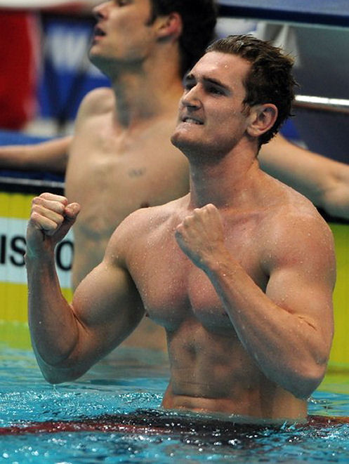 Cameron van der Burgh shirtless