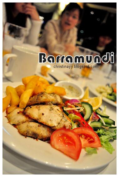 Christopher's Restaurant: Grilled Barramundi