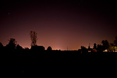 Rural nightlife (indykaleu) Tags: longexposure sky hot fall nature night rural canon dark landscape eos october midwest farm silhouettes indiana noflash nighttime silhoutte 2010 30d canoneos30d indykaleu