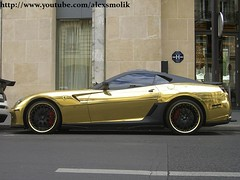 Gold Ferrari 599 by Hamann (alexsmolik) Tags: auto fab money paris cars by wrapping gold golden design automobile foil rally wrap ferrari arabic chrome arab coche carros customized driver wealthy jeddah custom expensive riyadh luxury scuderia luxe amg wealth voitures exotics gtb supercars brabus exoticcars tunnig hamann fabdesign expensivecars gemballa luxurycars 599 foiling westcoastcustoms alsaud fiorano goldcar millionnaire richfamous billionnaire goldpaintjob alrajhi jeddahboys goldferrari ferrari599hamann saudicars saudisupercars ferrariinparis goldferrari599 yazeedalrajhi gemballatuning lifeoftherichfamous highluxurytuning alexsmolik