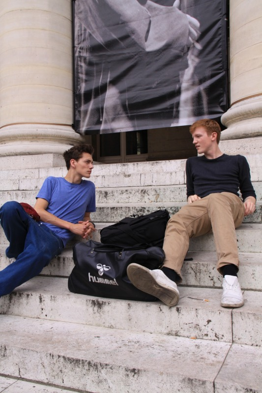 Street Snap0023_SS11 Paris_Jakob Hybholt& Lasse Pedersen(changefashion)