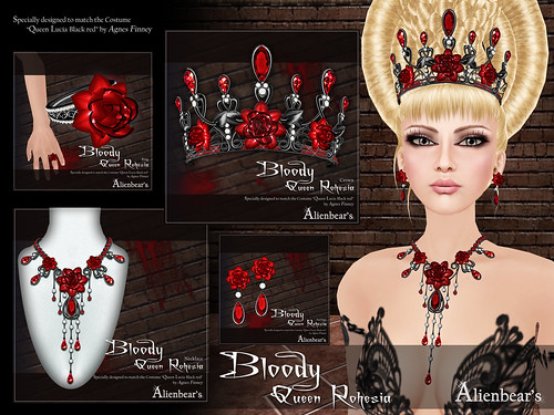 Bloody Queen rohesia poster I