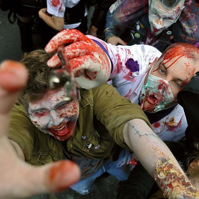 Zombie Walk 2010 - Ambiance (5610)