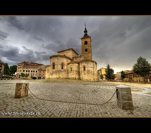 Iglesia de San Millán (Segovia).