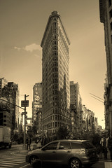 New York City USA -  Flatiron Building 02