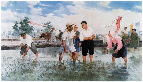 Kim Il Sung Propaganda Posters