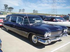 1959 Cadillac Superior hearse (sv1ambo) Tags: classic creek gm general sydney superior australia cadillac motors eastern hearse 1959 2007 shannons raceway