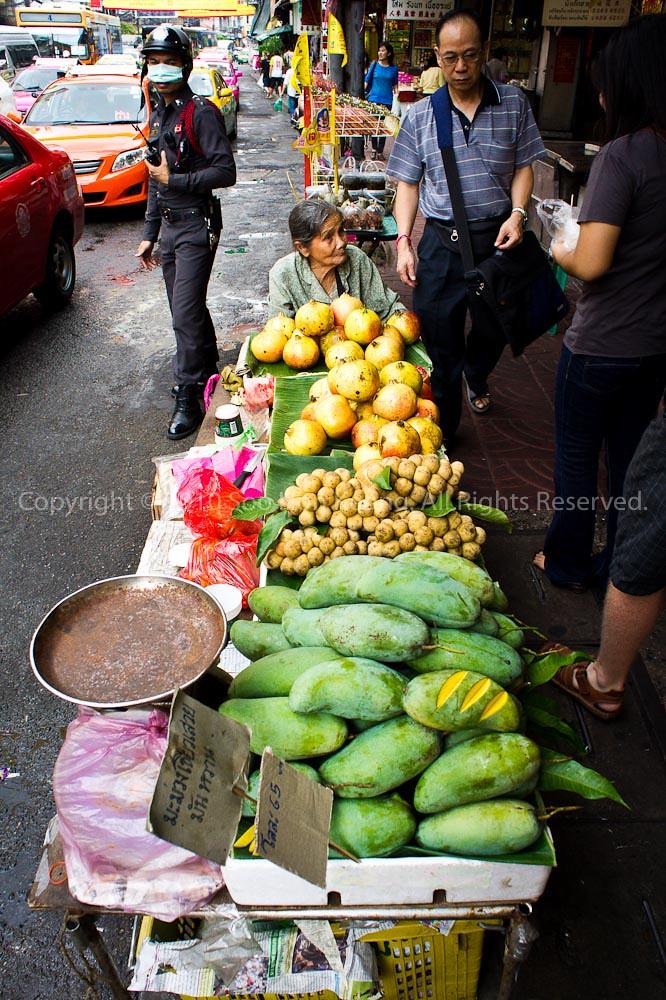 Vendor @ ChinaTown, Bangkok, Thailand