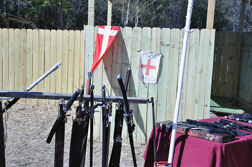 Weapons and First Aid Station